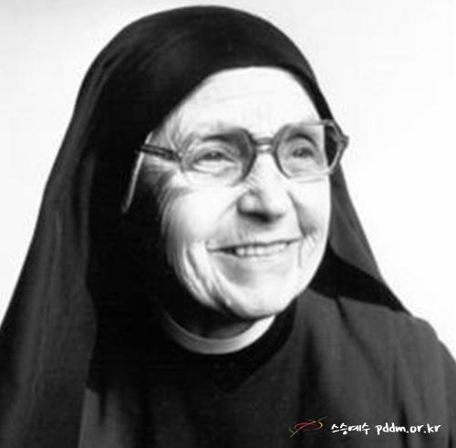 착한 마리아 크리스틴 보우드로 수녀에게(로마, 1976년 부활)